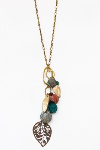 Work of Worth summer orchard necklace