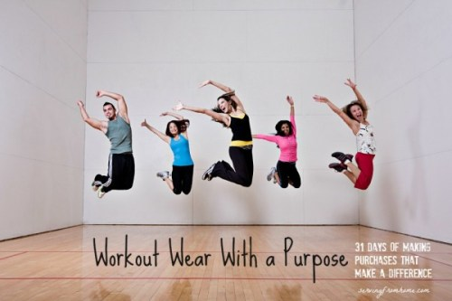 Workout Wear With a Purpose