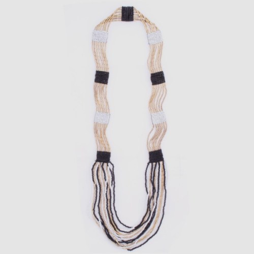 beaded loom necklace