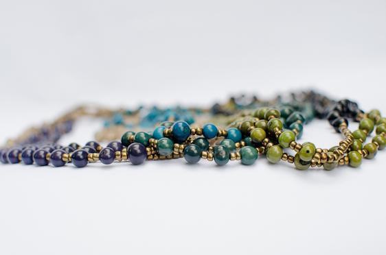 rainforest pearls necklace johari