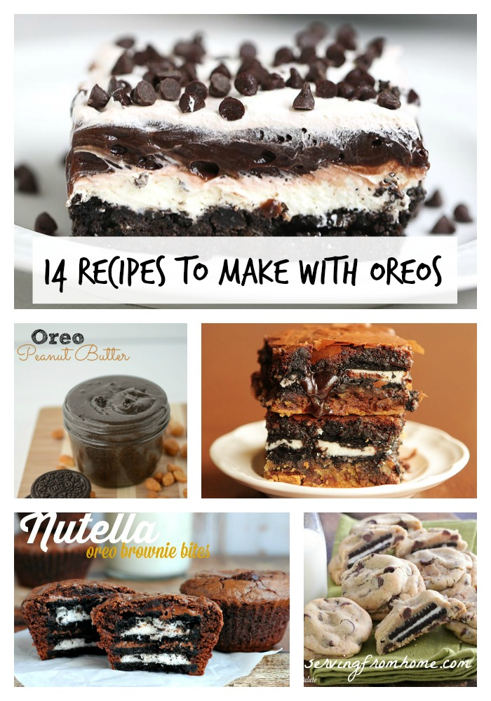 14 Recipes to Make With Oreos