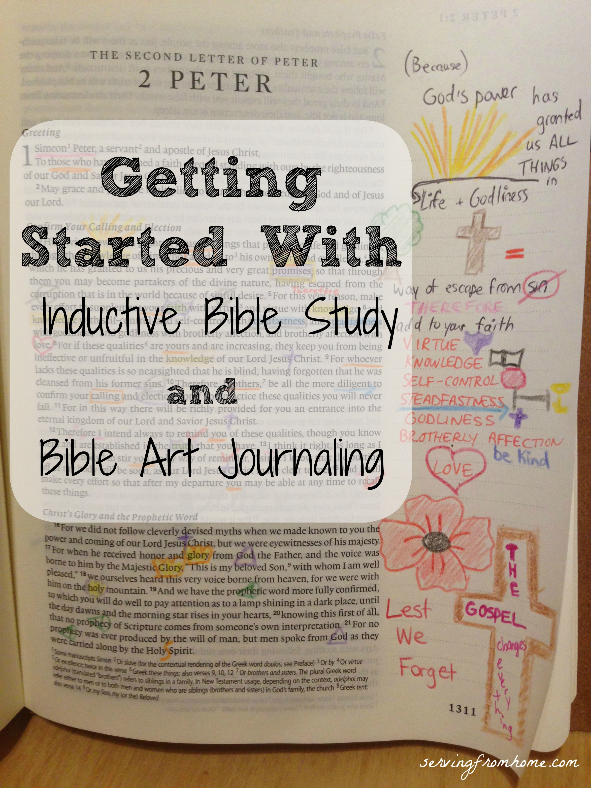 Getting Started With Inductive Bible Study And Bible Art