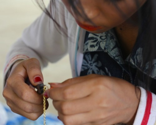 LandMine designing jewelry