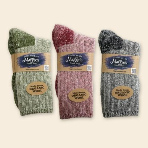 Maggies Organic Merino Wool socks