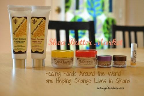 Shea Butter Market Healing Hands Helping Lives