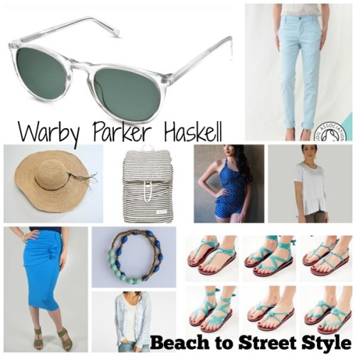 Warby Parker Haskell Beach to Street Style
