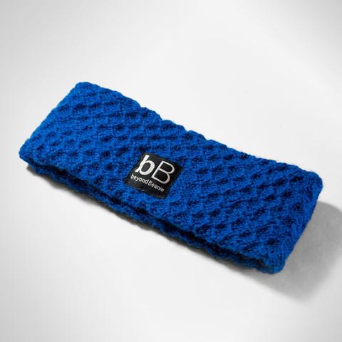 beyondbeanie blue ipa headband