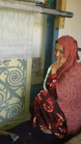 ARZU weaving