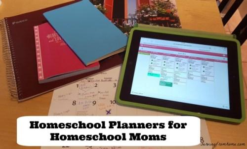 Homeschool Planners for Homeschool Moms