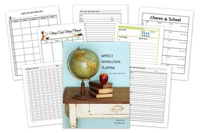 homeschool creations weekly homeschool planner