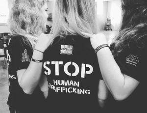 stop human trafficking she arises uncvrd
