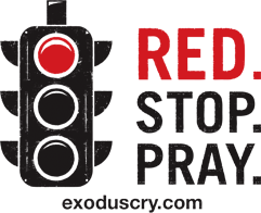 red stop pray