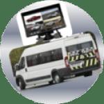 minibüs kamera sistemleri montajı