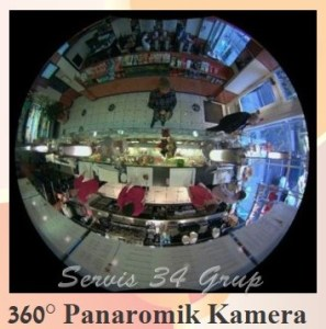 360° panaromik kamera