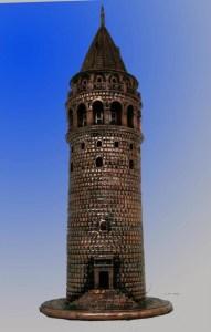 Galata kulesi-maket