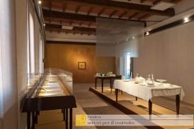 Museo Civico Polironiano allestimento esposizione mostra