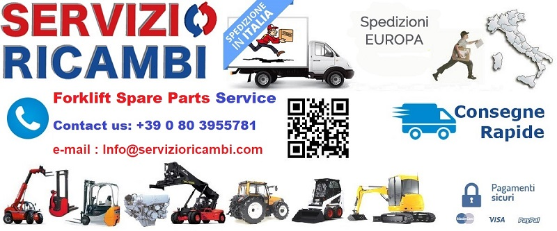 Ricambi Carrelli Elevatori Forklift Spare Parts Service Supply
