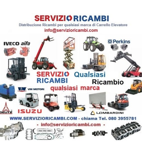 Carrelli Elevatori tutte le marche Forklifts Spare Parts Service all Brands