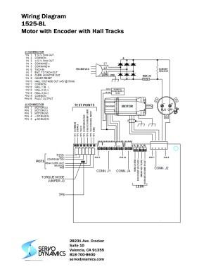1525BL Servo Amplifier  Servo Dynamics