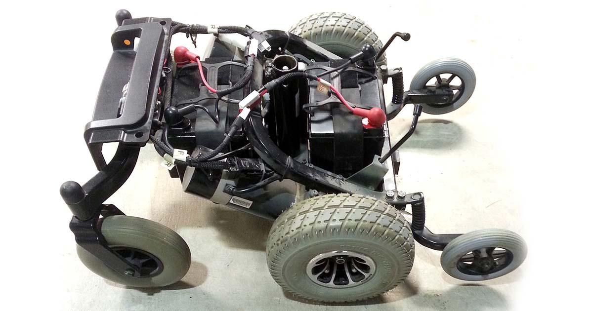 wheel chair motor ashley furniture oversized hardware hacking a power wheelchair control module servo magazine