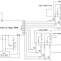 Diagram Motor Control Wiring Software Using Stepper Motors For Wheeled Robot Propulsion Servo Magazine Schematic Of The Driver