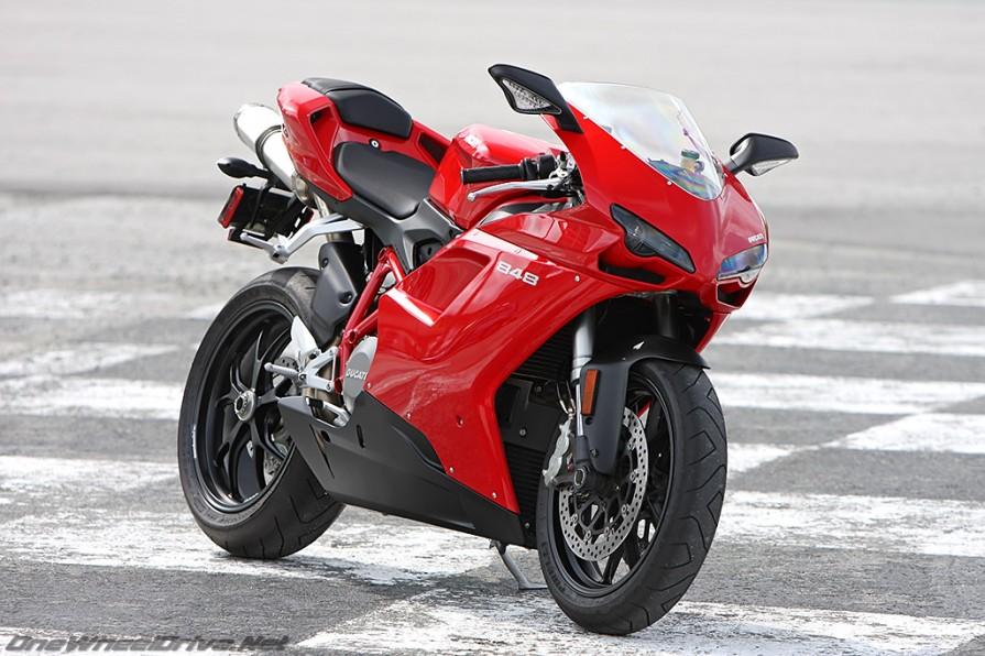 2008-2013 Ducati 848 Base & EVO Clear Kit - Servo PPF
