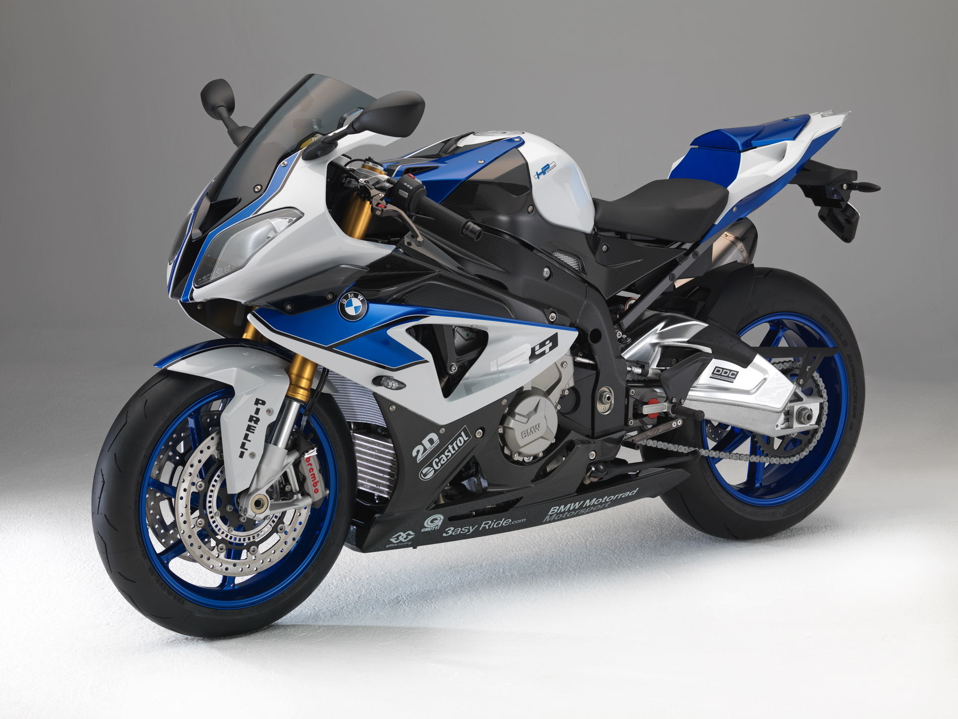 2013-2014 BMW S1000RR HP4 Competition Clear Bra Kit ...