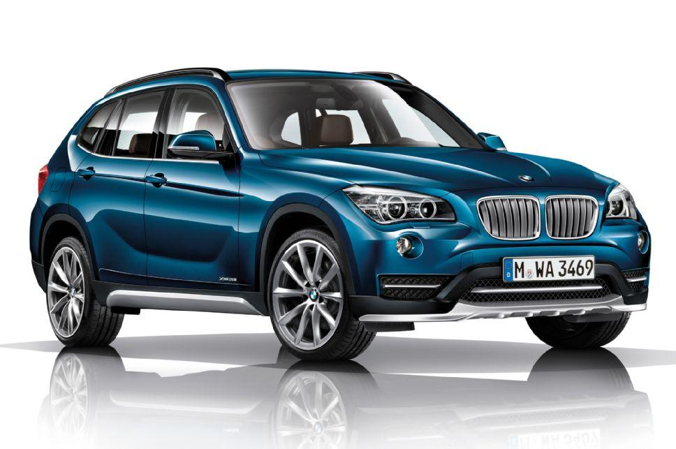 2013 BMW X1 Base Clear Bra Kit