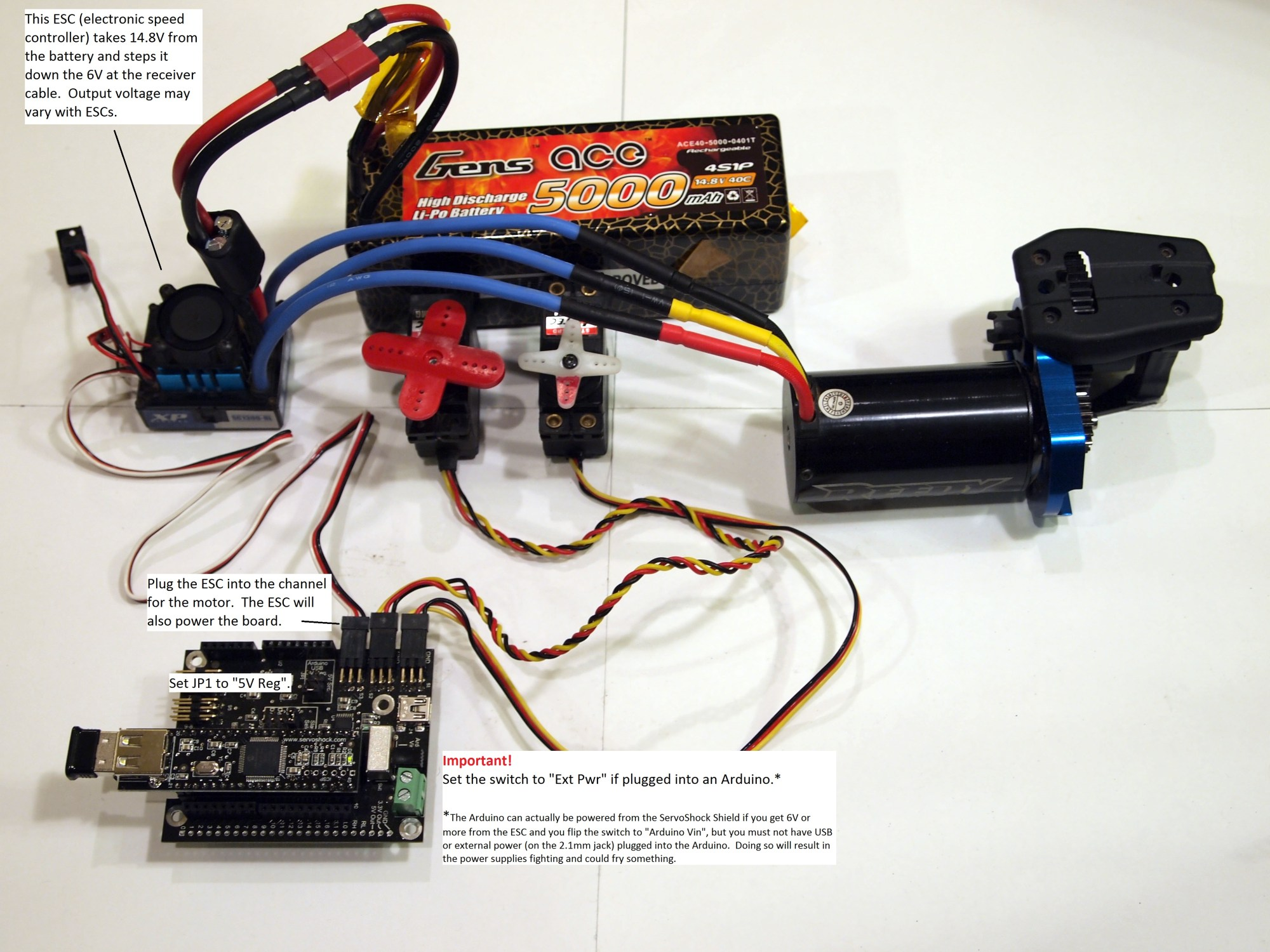 hight resolution of servoshock remote servo and i o controller by cross