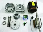 Disassembled Fanuc Spindle Motor