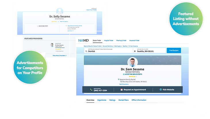 WebMD + Vitals.com Enhanced Profiles - Dental Marketing ...