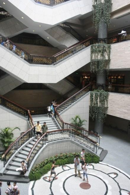 Gedung Museum Shanghai dalam