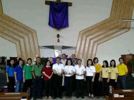 Misa Pengutusan KBKK di Gereja Santo Paskalis menjelang Baksih ke Sumba Timur Maret 2013