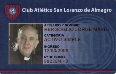 Kartu anggota Paus