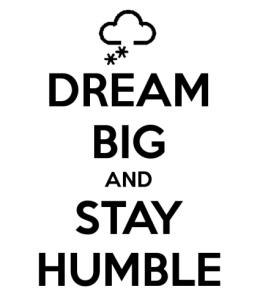 rendah hati namun cita-cita tinggi by Keep Calm