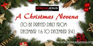 novena natal by spread jesus