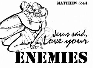 cintailah musuhmu
