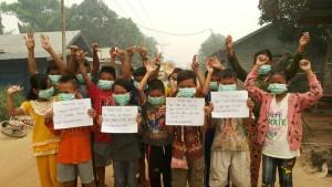 Palangkaraya anak2 Desa Baun Bango, Kabupaten Katingan - Kalimantan Tengah - Foto oleh DEPI NATALIA