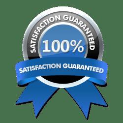 100% Satisfaction Guarantee Logo