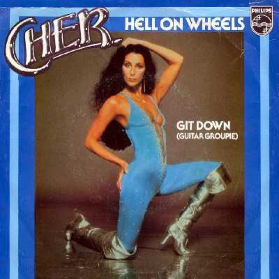 1979 Cher  Hell On Wheels US 56  Sessiondays