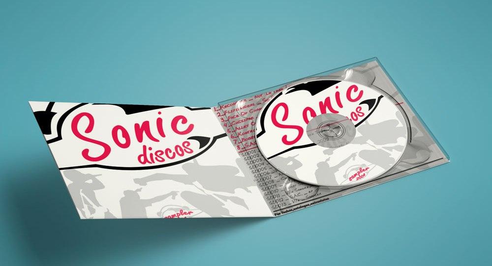 Diseño de logo Sonic Discos