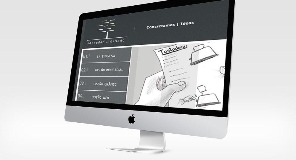 Diseño web Sociedad de Diseño