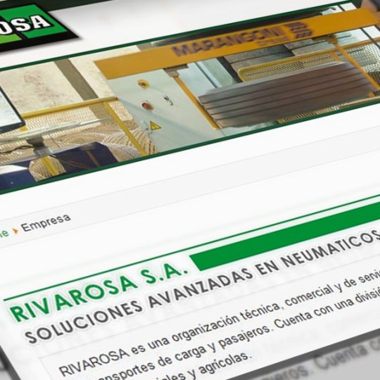 diseño web rivarosa