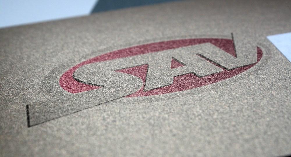 Diseño de logo para Transporte SAV