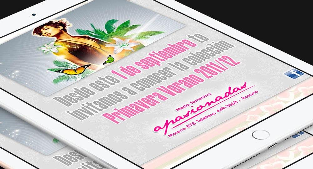 Diseño de Newsletter para Infoenvios – Apasionadas