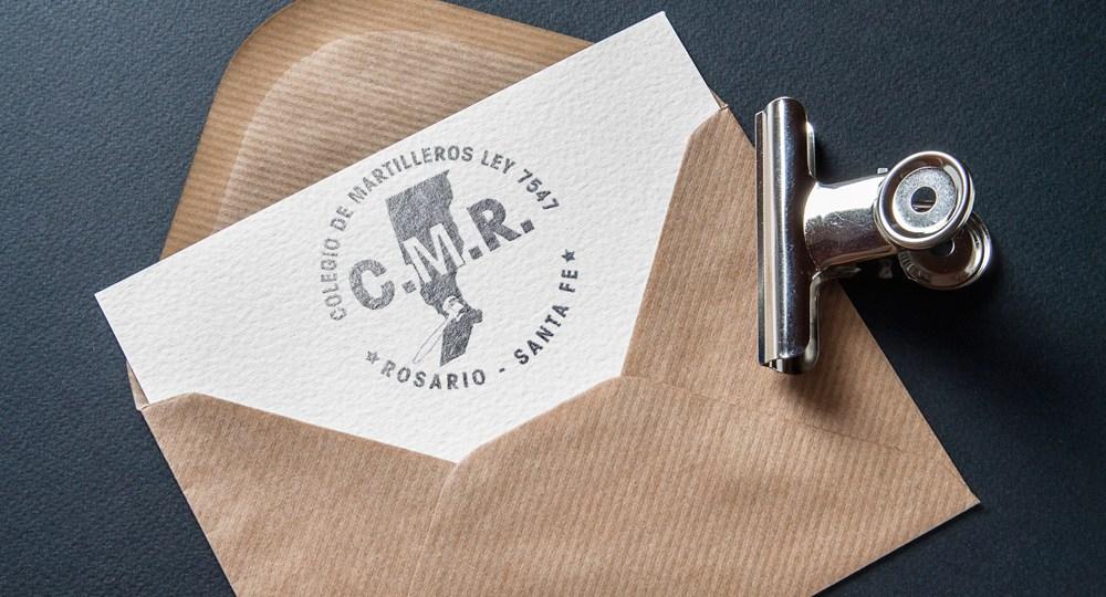 Re-Diseño del logo del Colegio de Martilleros de Rosario