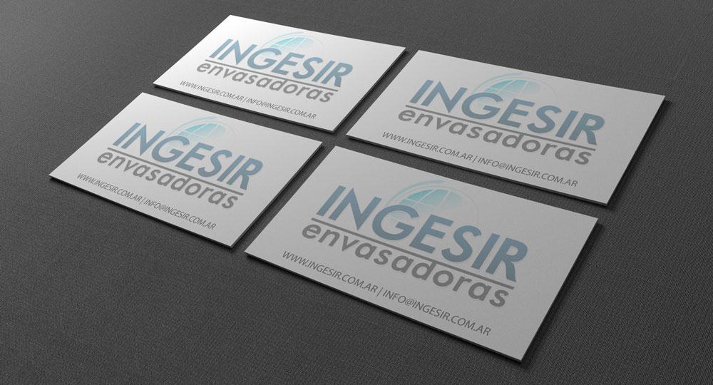 Diseño de logo para Ingesir