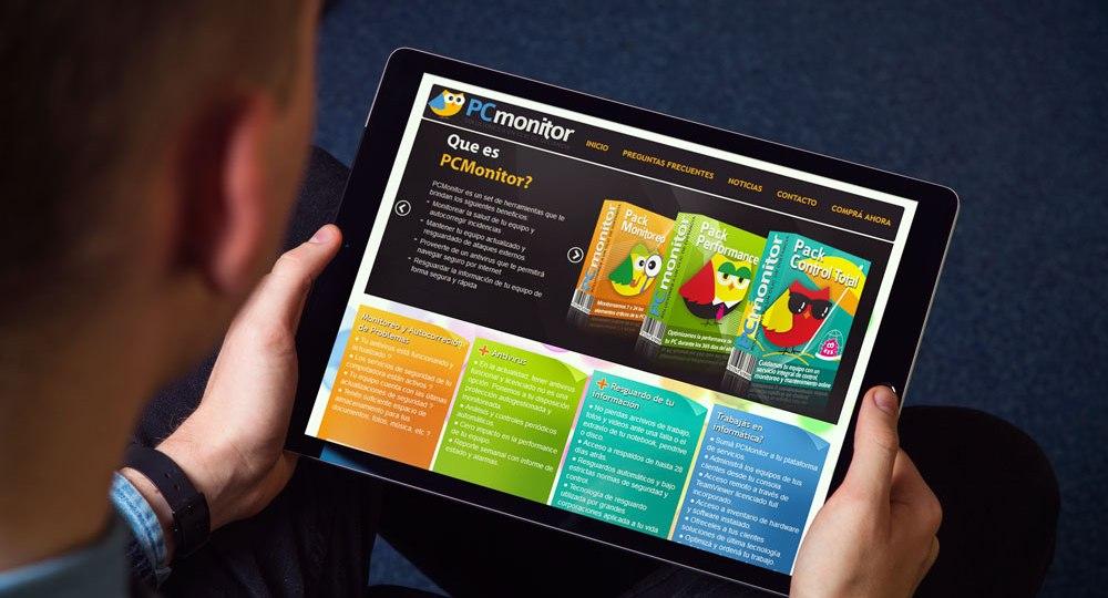 Diseño web PCMonitor