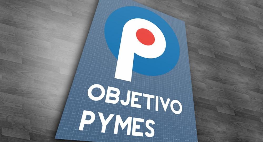 Diseño de logo Objetivo pymes