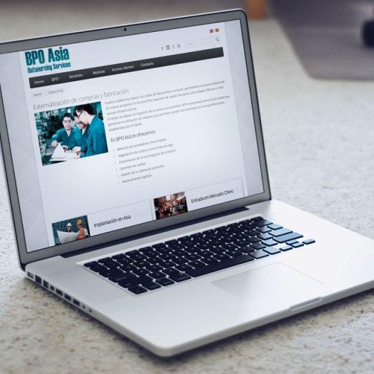 Diseño web para BPOASIA
